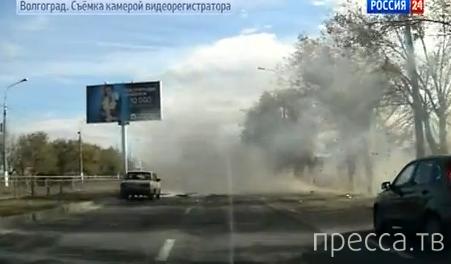 Террористка-смертница устроила взрыв пассажирского автобуса в Волгограде... Жесть!!!