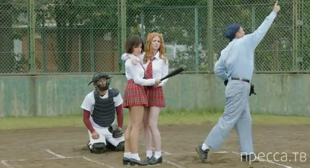 Тату снялись в японской рекламе сникерса