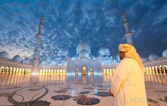 Рианну выгнали из мечети в Арабских Эмиратах за фотосессию (8 фото)