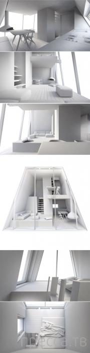 """""""Первобытное жилище"""" от студента-дизайнера Конрада Вочика (10 фото)"""