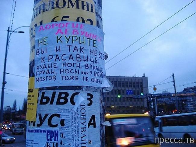 Народные маразмы - реклама и объявления, часть 136 (45 фото)