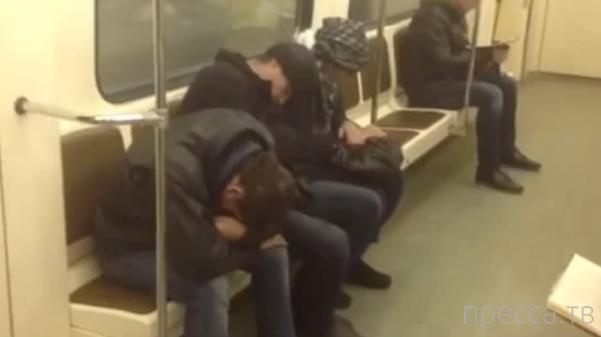 Похолодало... Бомжи в Москве