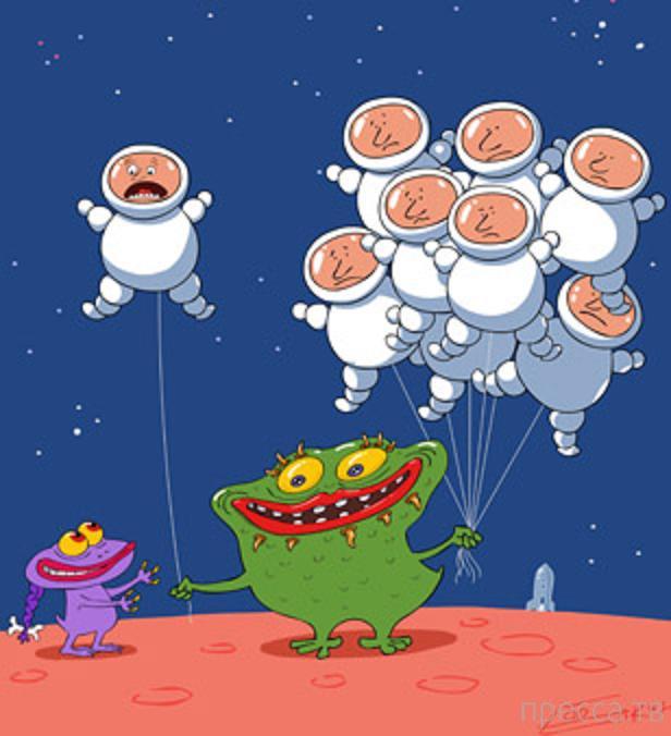 Инопланетяне и кошки-навигаторы...