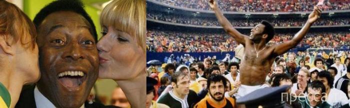 Интересные факты о Короле футбола - Пеле (14 фото + 3 видео)