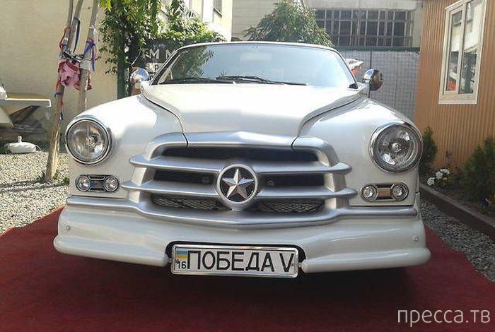 """Фотографии самодельного автомобиля """"Победа""""сделанного на базе Mercedes (17 фото)"""