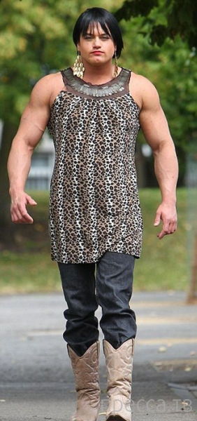 Трансформация Кэндис Армстронг: из милой блондинки в мужчину (12 фото)
