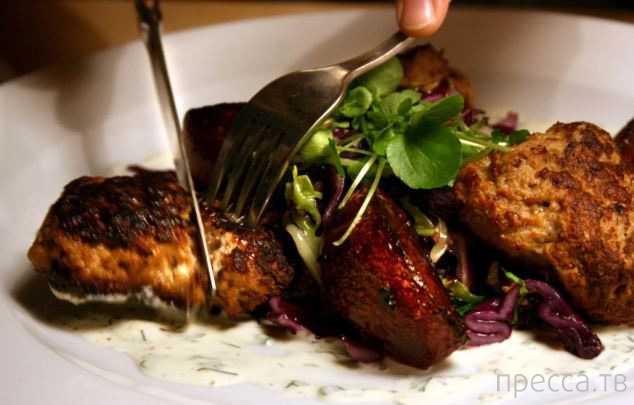 Блюда с помойки в новом ресторане Дании (6 фото)