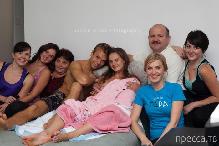 Фотографии домашних родов (15 фото)