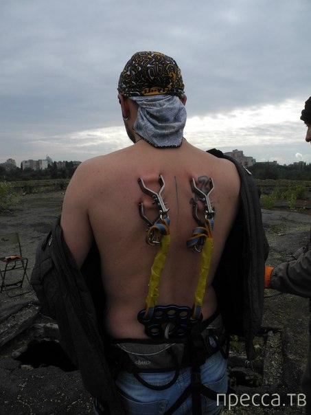 Аттракцион для любителей экстрима, которые не боятся боли (30 фото)