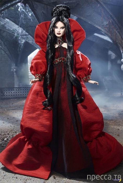 Новая Барби-вампиресса к празднику Хеллоуин (4 фото)