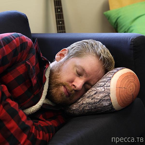 Подушка-полено (2 фото)