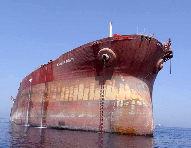 Самые большие корабли и самолеты (28 фото)