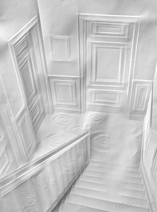 Удивительные и очень красивые работы из бумаги (60 фото)