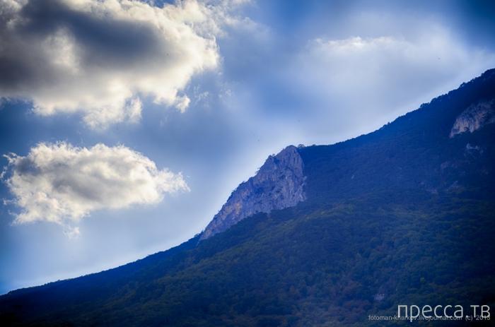Великолепные пейзажи Гурзуфа (9 фото)