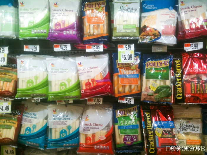 Сколько в США стоят продукты? (40 фото)