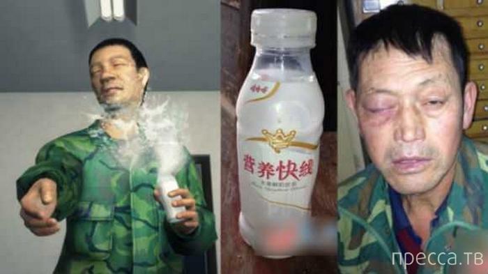 В Китае взрываются даже йогурты (3 фото)