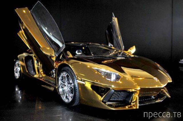 Золотая модель LAMBORGHINI (13 фото)
