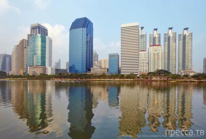 """""""Benjakiti park"""" - малоизвестный туристам прекрасный парк в  Бангкоке (4 фото)"""