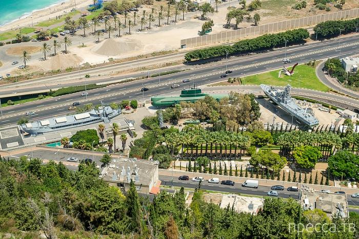 Израиль 2013: Хайфа, вид с горы Кармель (11 фото)