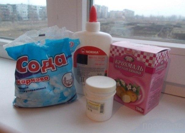 Холодный фарфор из картофельного крахмала и без варки (5 фото)