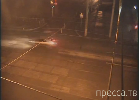 """Жесть!!! """"Volkswagen Polo"""" насмерть сбил пешехода... ДТП на ул. Мира, г.Пермь"""