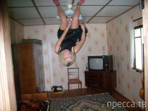 """Подборка прикольных фотографий: """"Тем временем в России"""" (32 фото)"""