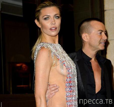 Известная модель и телеведущая - Эбби Клэнси не признает нижнее белье (11 фото)