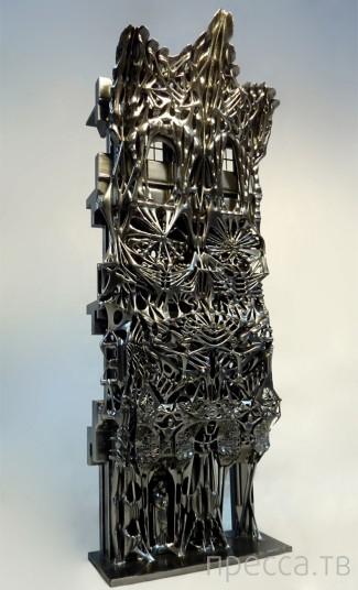 Художественная выставка 3D печати (18 фото)