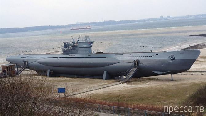 Топ 7: Лучшие подводные лодки Второй Мировой Войны (15 фото)