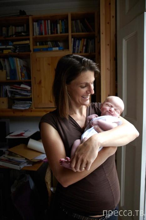 Трогательные портреты матерей с младенцами (14 фото)