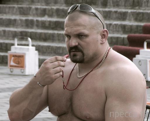 Самый сильный человек мира случайно разогнал гей-парад на Украине