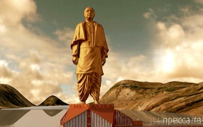 Топ 10: Самые высокие статуи в мире (10 фото)