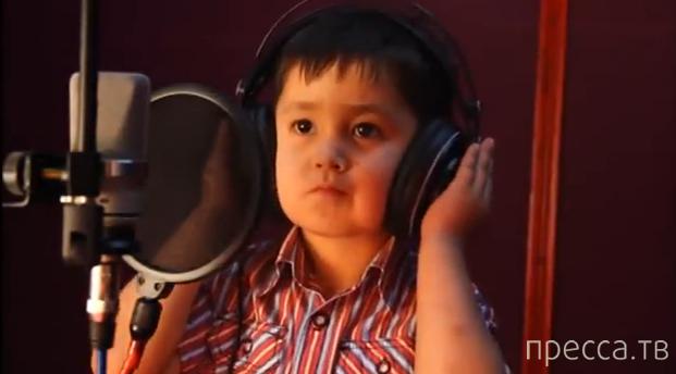 4-летний мальчик с супер-голосом поет на фарси...