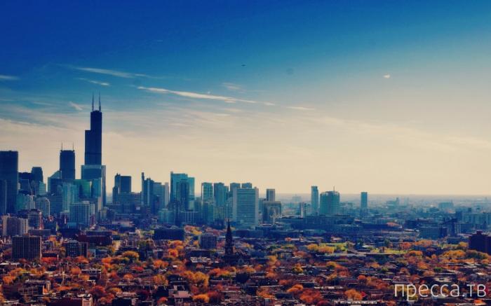 Серия красивых и удивительных фотографий городских пейзажей (49 фото)