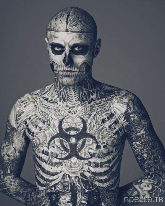 Топ 10: Люди с самыми невероятными модификациями внешности (10 фото)