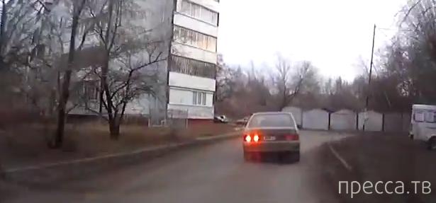 """Полицейская погоня за пьяным водителем """"Зубилы""""... г. Омск"""