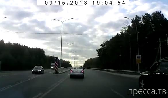 Задержание пьяного водителя... Объездная дорога ТЭЦ 2, г. Тюмень