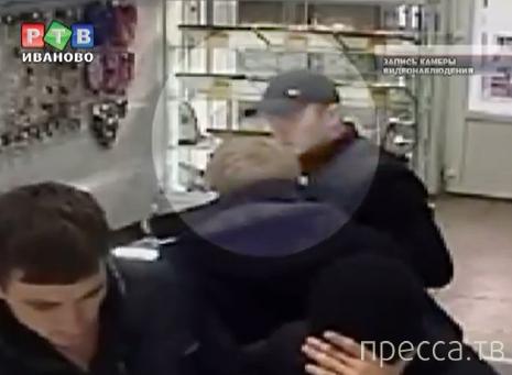 Внимание, розыск!!! Ограбление в ювелирном магазине г. Тейково, Ивановская область