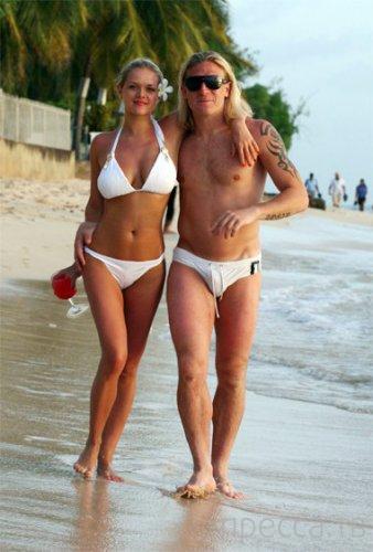Жены украинских футболистов (43 фото)