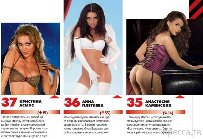 Самые сексуальные женщины России 2013 года (25 фото)
