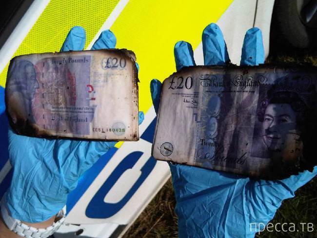 Британец нашёл 60 тыс. фунтов стерлингов в реке (3 фото)