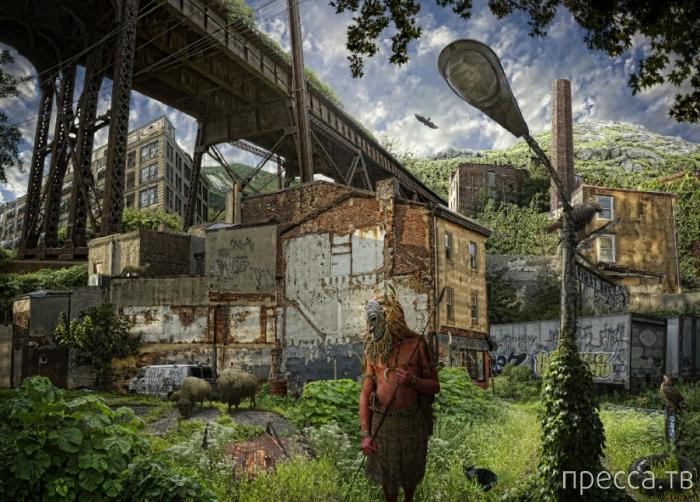 """Серия работ Ника Педерсена (Nick Pedersen) под названием """"Ultima"""", которая иллюстрирует утопию современного мира (12 фото)"""