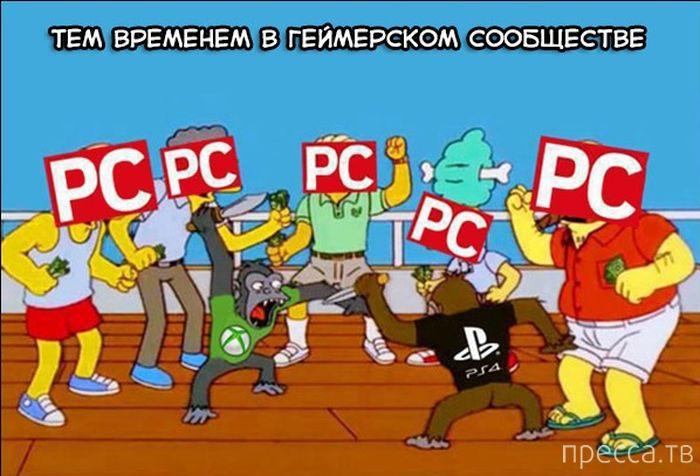 Веселые комиксы и карикатуры, часть 29 (17 фото)