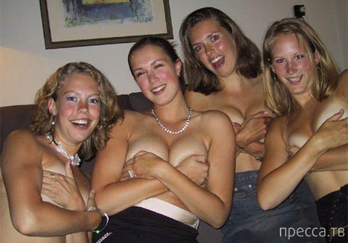 Шок!!! Пьяные девчонки (35 фото)