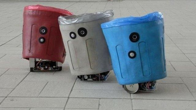 Умное мусорное ведро (фото +видео)