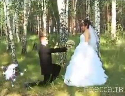 Самое шедевральное свадебное видео