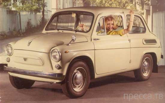 Легендарные автомобили СССР (7 фото)