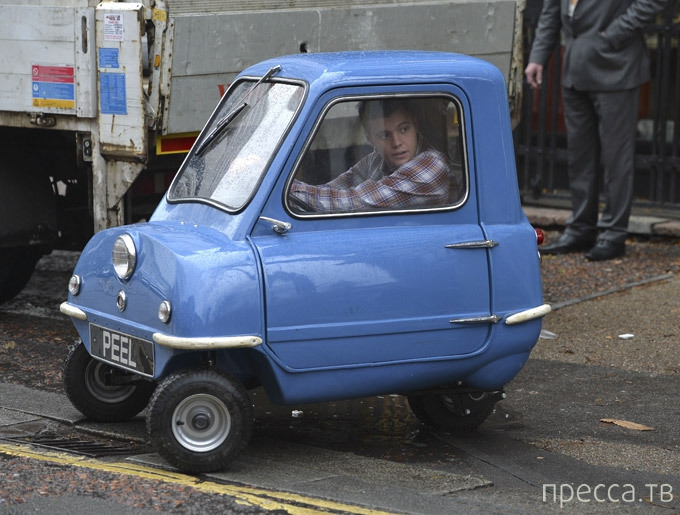 Peel P50 - Самая маленькая машина в мире (5 фото)
