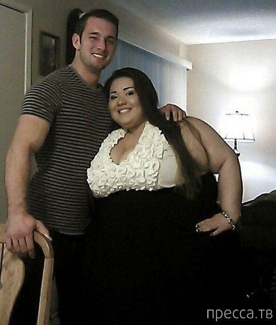 Очень необычная влюбленная пара (22 фото)