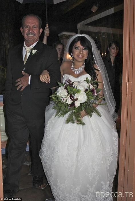 Любовь - это, когда женишься на обречённой (6 фото)